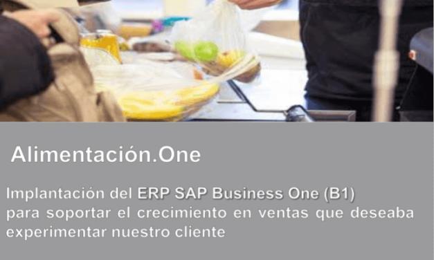 Caso de Estudio: Implantación de ERP en importante grupo empresarial de Alimentación