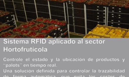 Sistema RFID aplicado al Sector Hortofrutícola – Hoja de Producto