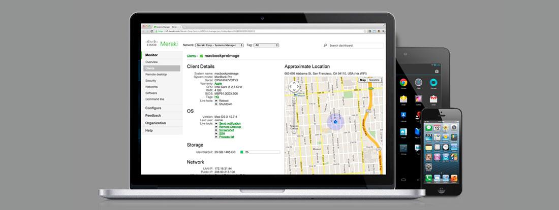 Cisco Meraki te aporta la seguridad, la confianza y la tranquilidad que necesitas.