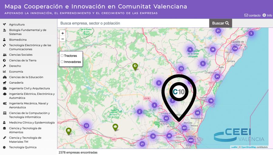 CEEI Valencia cataloga C10 como empresa innovadora